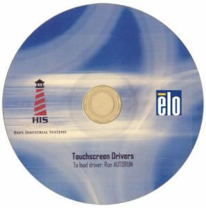 CD de controladores de pantalla táctil de Elo