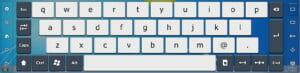 Teclado virtual Touch-It de Chessware